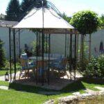 Pavillon Eisen Wohnzimmer Pavillon Eisen Garten