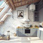 Spüle Küche Mit Elektrogeräten Günstig Eiche Hell Tapete Modern Deko Für Spülbecken Nolte Handtuchhalter Komplettküche Kaufen Ikea Erweitern Wohnzimmer Küche Dachgeschoss