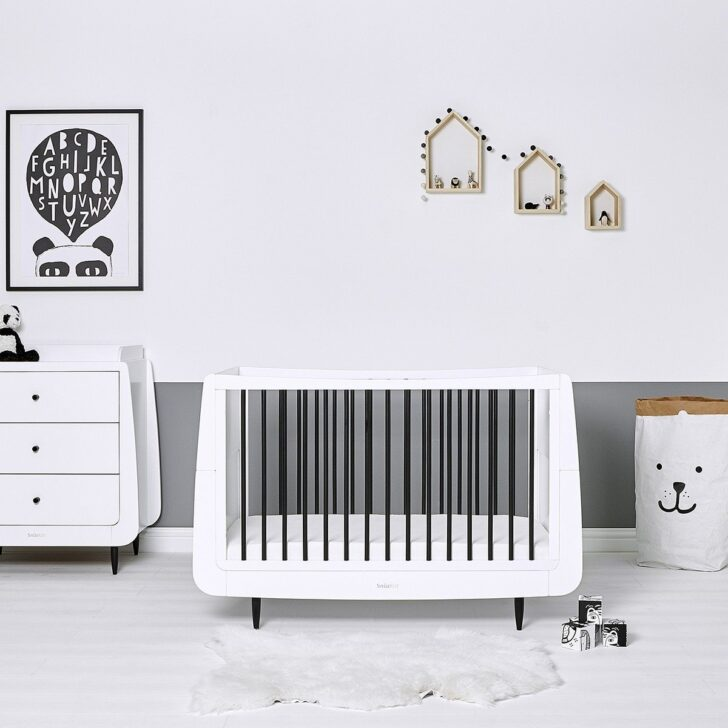 Medium Size of Babybett Schwarz Snzkot Skandi In Mono Bett 180x200 Schwarze Küche Schwarzes Weiß Wohnzimmer Babybett Schwarz