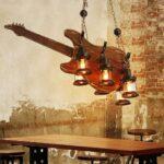 Deckenlampe Industrial Modern Holz Pendelleuchte Retro Style Küche Esstisch Deckenlampen Für Wohnzimmer Bad Schlafzimmer Wohnzimmer Deckenlampe Industrial