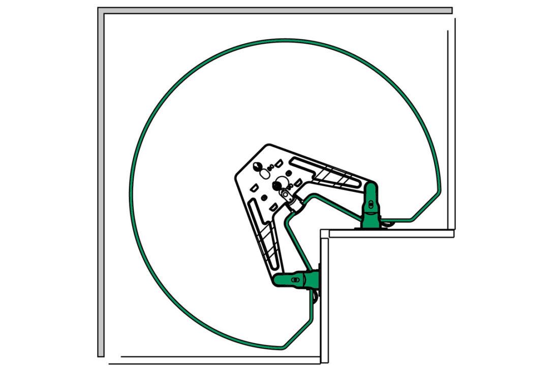 Large Size of Küchenkarussell Blockiert Intelligente Eckschrnke Fr Kche Kessebhmer Wohnzimmer Küchenkarussell Blockiert