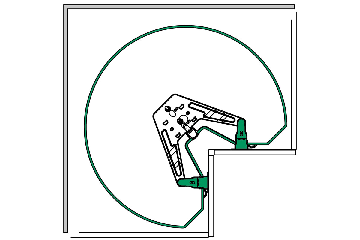 Full Size of Küchenkarussell Blockiert Intelligente Eckschrnke Fr Kche Kessebhmer Wohnzimmer Küchenkarussell Blockiert