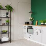 Landhausküche Grün Grne Kchen Kchendesignmagazin Lassen Sie Sich Inspirieren Weiß Grau Grünes Sofa Weisse Gebraucht Küche Mintgrün Moderne Regal Wohnzimmer Landhausküche Grün
