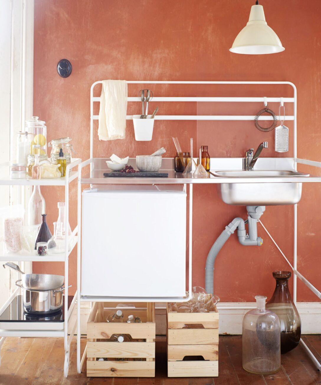 Large Size of Single Küche Ikea Get An Entire Mini Kitchen For Just 112 Minikche Fliesenspiegel Arbeitsplatte Einrichten Kaufen Günstig Edelstahlküche Fettabscheider Wohnzimmer Single Küche Ikea