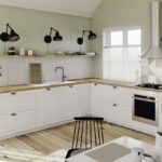 Freistehende Küchen Offene Kche Durch Perfekte Planung Zum Wohlfhlort Blanco Küche Regal Wohnzimmer Freistehende Küchen