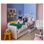 Bett Mit Ausziehbett Ikea Slkt Bettgestell 140 Betten Günstig Kaufen 180x200 Esstisch Baumkante Keilkissen Bambus Amerikanische Modernes Bette Starlet 4 Wohnzimmer Bett Mit Ausziehbett Ikea