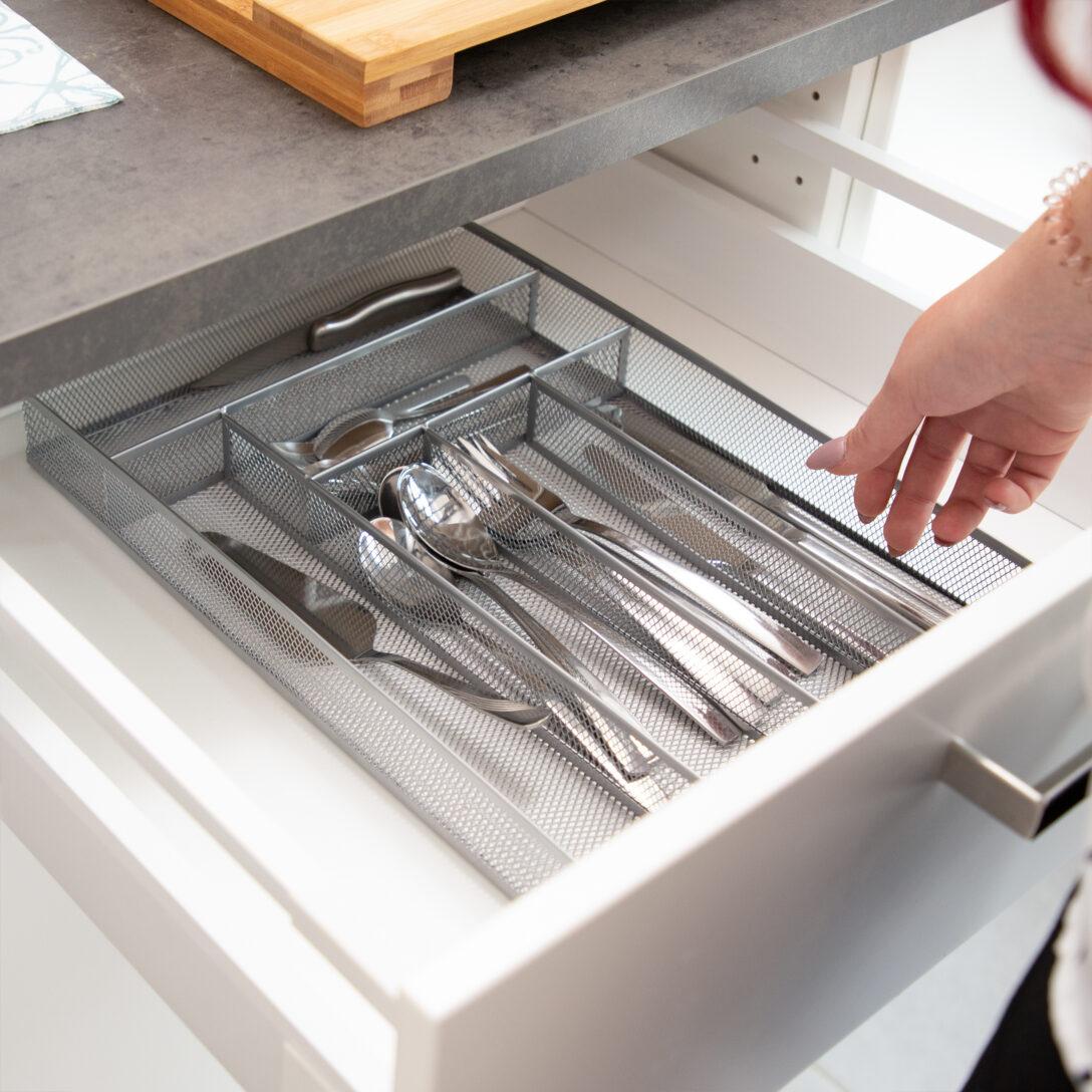 Large Size of Besteckkasten Gro Metall Besteckeinsatz Robust Schubladeneinsatz Küche Wohnzimmer Gewürze Schubladeneinsatz