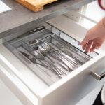 Gewürze Schubladeneinsatz Wohnzimmer Besteckkasten Gro Metall Besteckeinsatz Robust Schubladeneinsatz Küche