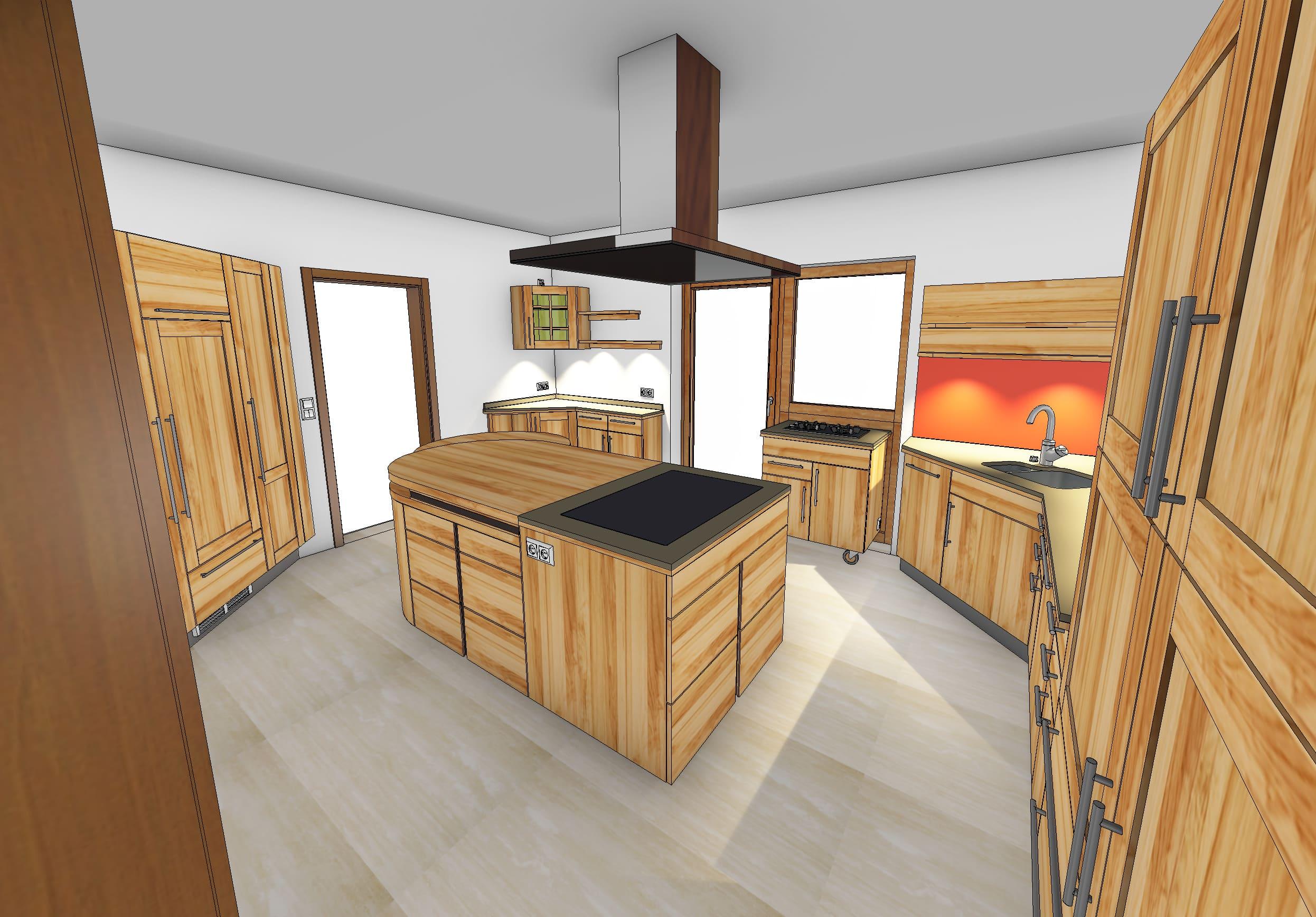 Full Size of Massivholzküche Abverkauf Massivholzkche Gnstig Sonstige Musterkche Bad Inselküche Wohnzimmer Massivholzküche Abverkauf