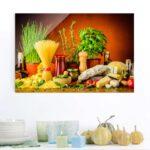 Glasbild Kche 80 40 Glasbilder Apfel Wand Fr Inselkche Bad Küche Küchen Regal Wohnzimmer Küchen Glasbilder