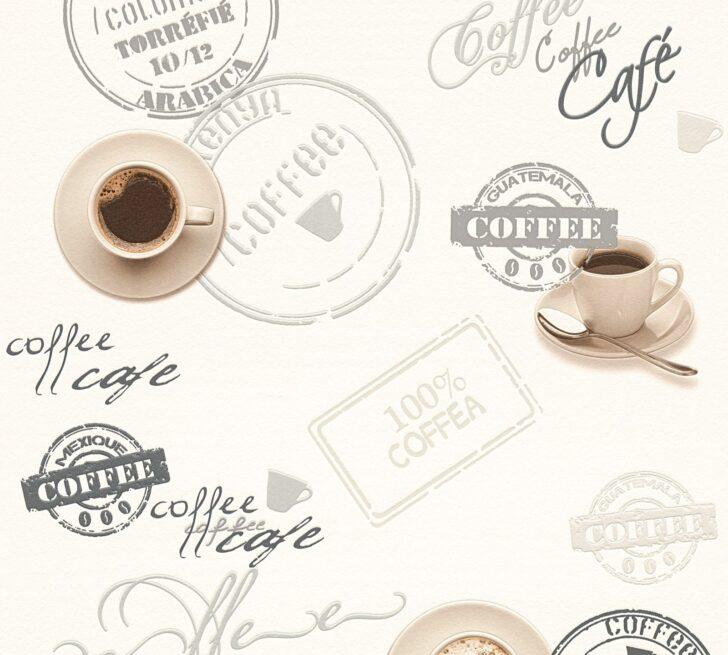 Medium Size of Vinyltapete Kche Kaffee Wei Grau 94308 1 Fliesenspiegel Küche Glas Beistelltisch Einbauküche Kaufen Hochschrank Selbst Zusammenstellen Kleiner Tisch Wohnzimmer Tapete Küche Kaffee