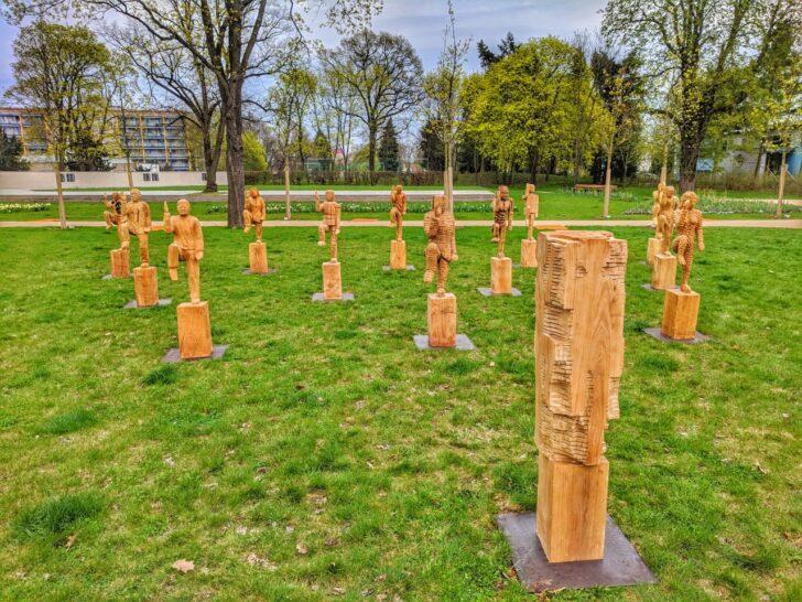 Gartenskulpturen Holz Selber Machen Kaufen Skulpturen Aus Gartenskulptur Stein Und Glas Garten Holzskulpturen Vom Kettensgenknstler Modulküche Holzregal Wohnzimmer Gartenskulpturen Holz