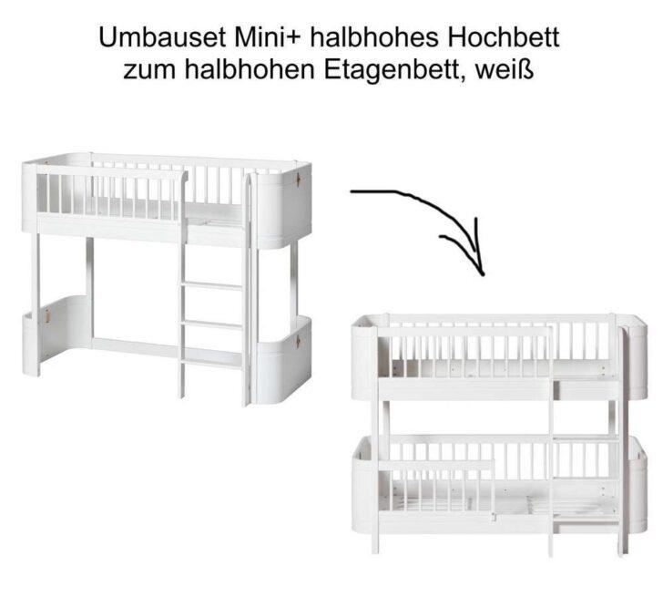 Medium Size of Halbhohes Hochbett Wood Umbauset Mini Zum Halbhohen Etagenbett Bett Wohnzimmer Halbhohes Hochbett