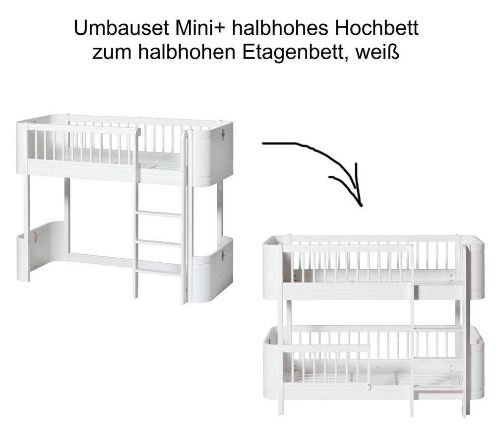 Full Size of Halbhohes Hochbett Wood Umbauset Mini Zum Halbhohen Etagenbett Bett Wohnzimmer Halbhohes Hochbett