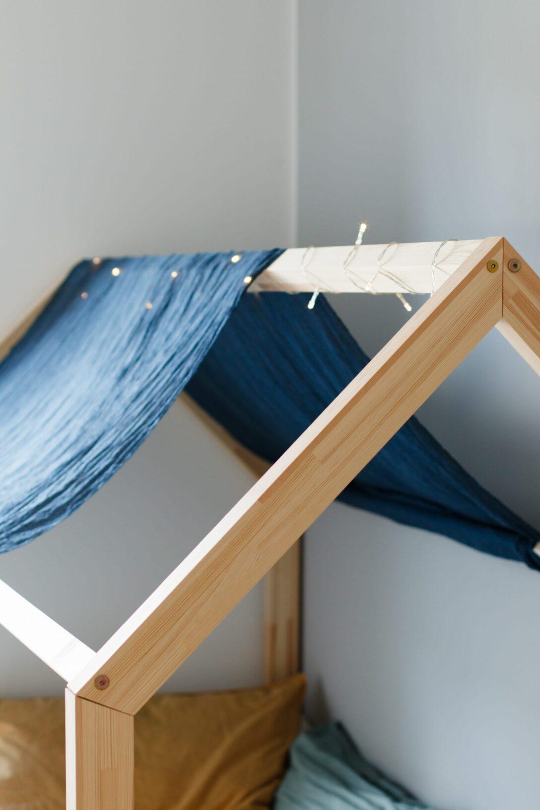Large Size of Hausbett Fr Floor Bed Nach Maria Montessori Küche Selbst Zusammenstellen Rausfallschutz Bett Wohnzimmer Rausfallschutz Selbst Gemacht