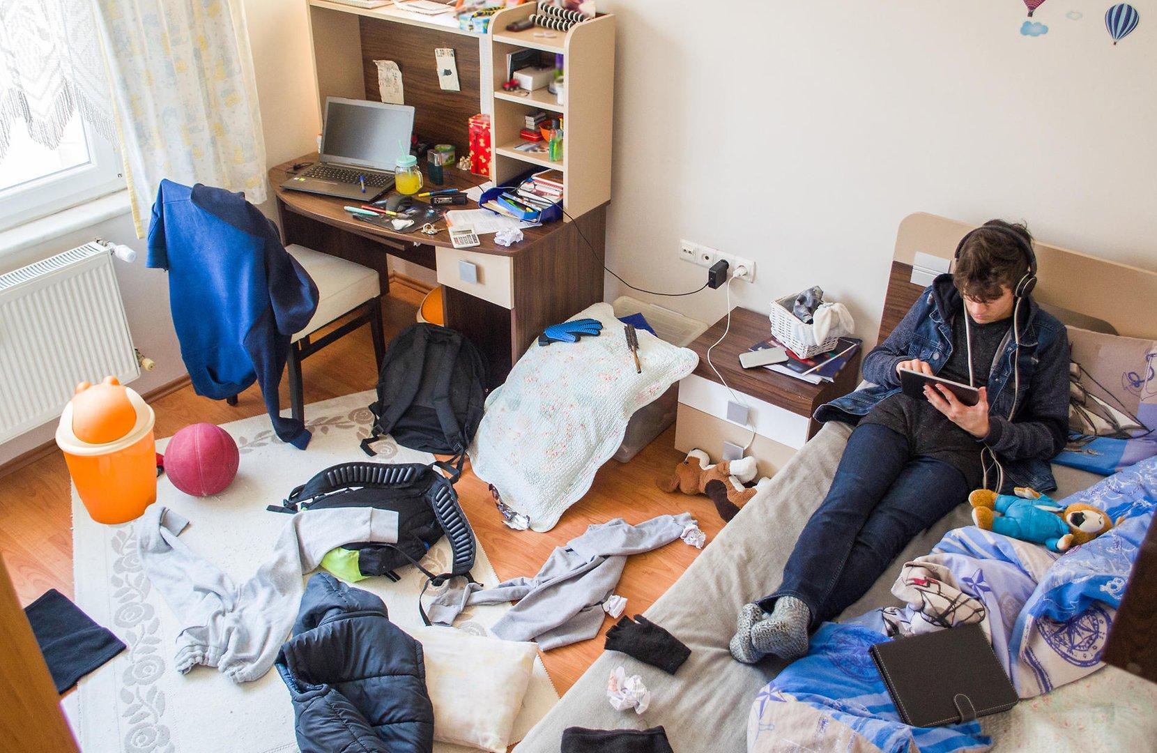 Full Size of Zimmer Teenager Von Schlechter Laune Bis Kiffen 11 Tipps Komplette Schlafzimmer Wiemann Beleuchtung Wohnzimmer Tapeten Komplett Mit Lattenrost Und Matratze Wohnzimmer Zimmer Teenager