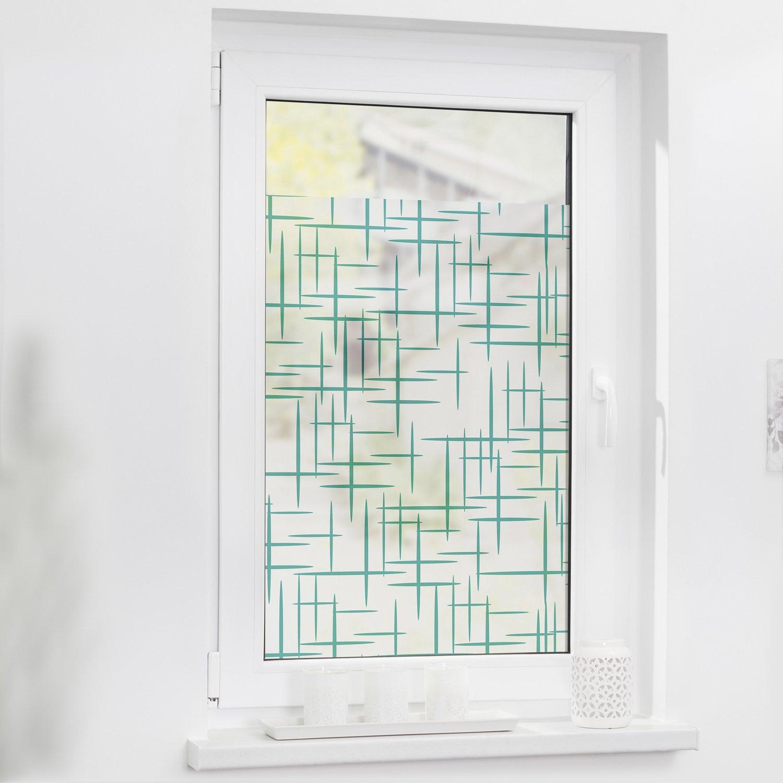 Full Size of Lichtblick Fensterfolie Selbstklebend Mit Sichtschutz Stars Petrol Wohnzimmer Fensterfolie Blickdicht