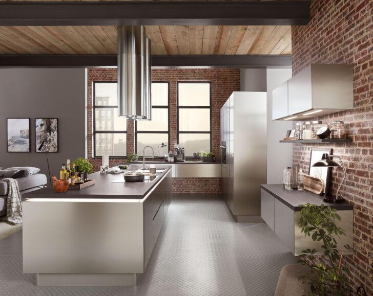 Medium Size of Küche Industrial Style Neue Lifestyle Wohnkchen Zum Wohlfhlen Amk Teppich Amerikanische Kaufen Was Kostet Eine Günstig Alno Grifflose Modulküche Ikea Wohnzimmer Küche Industrial Style