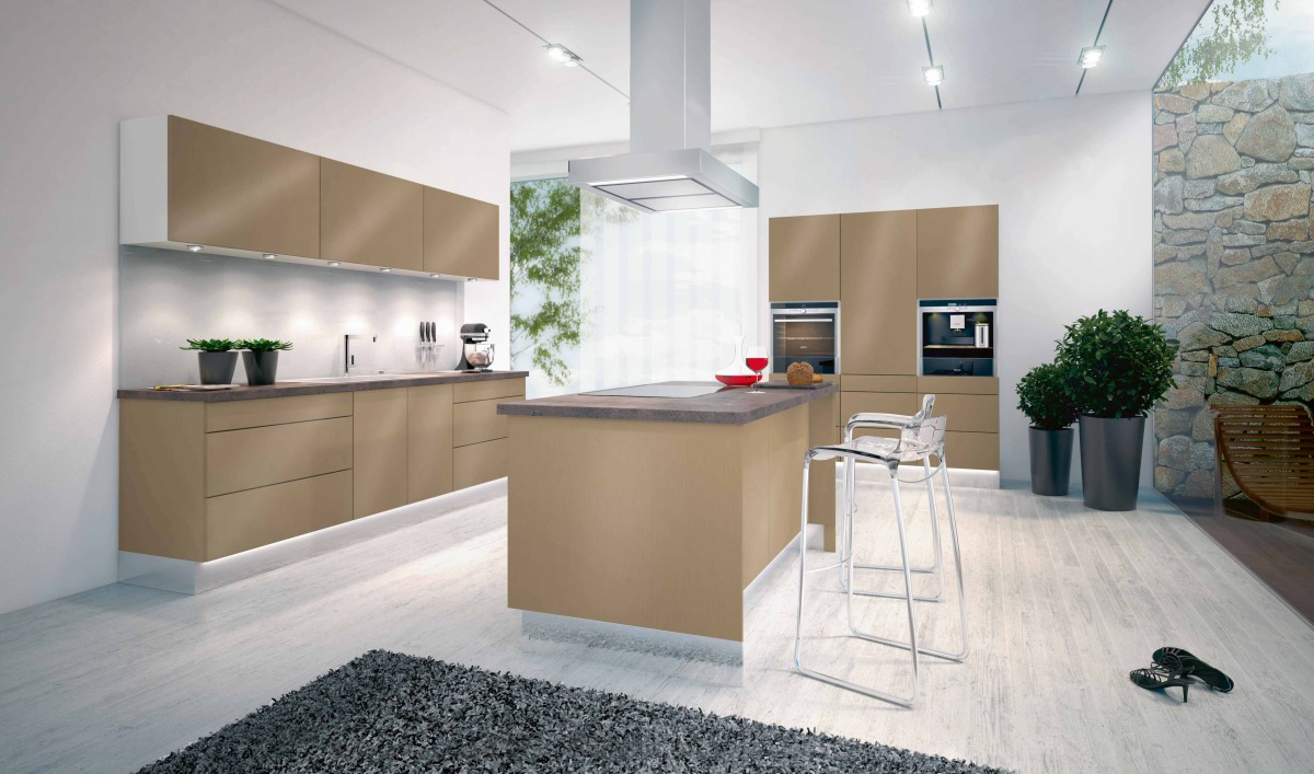 Full Size of Offene Kche Mit Kochinsel Modell 2022 Freistehende Küche Wohnzimmer Kücheninsel Freistehend