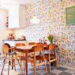 Retro Tapete Küche Schneidemaschine Deckenlampe Gewinnen U Form Wandverkleidung Einhebelmischer Nobilia Modern Weiss Einzelschränke Billig Kaufen Wohnzimmer Retro Tapete Küche
