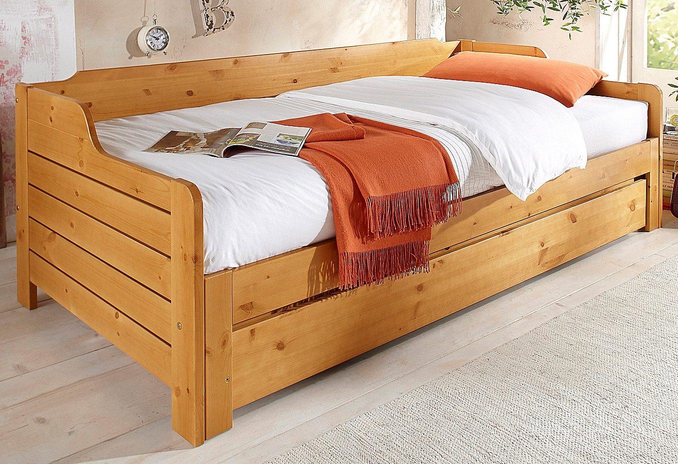 Full Size of Bett Ausziehbar Gleiche Ebene Ikea Betten Für übergewichtige Rundes Skandinavisch 140 X 200 180x200 Komplett Mit Lattenrost Und Matratze Ausklappbar Stauraum Wohnzimmer Bett Ausziehbar Gleiche Ebene