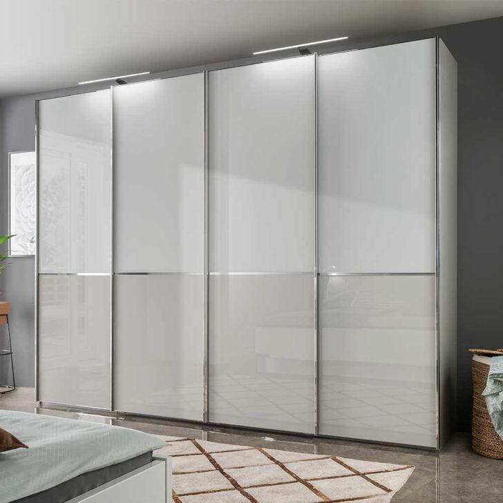 Medium Size of Schlafzimmerschrank Casaryna In Wei Und Grau Mit Schwebetren Wohnzimmer Schlafzimmerschränke