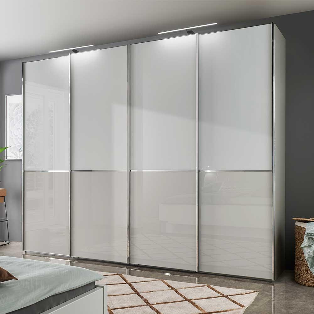 Full Size of Schlafzimmerschrank Casaryna In Wei Und Grau Mit Schwebetren Wohnzimmer Schlafzimmerschränke