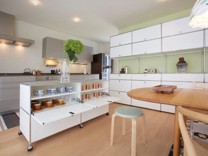 Medium Size of Mit Usm Haller Einfallsreiche Aufbewahrungsmglichkeiten Auch In Stehhilfe Küche Kaufen Tipps Elektrogeräten Müllschrank Fettabscheider Nischenrückwand Wohnzimmer Aufbewahrungsideen Küche