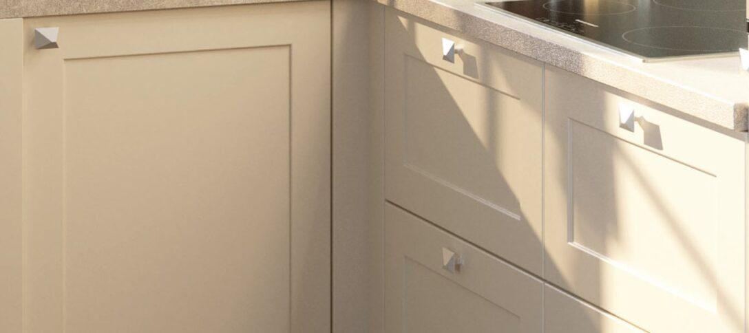 Kche L Form Landhauskche In Perlgrau Matt Kcheco Küche Landhausstil Wohnzimmer Moderne Landhausküche Weiß Sofa Landhaus Schlafzimmer Esstisch Gebraucht