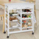 Küchenwagen Servierwagen Sobuy Fkw78 W Kchenwagen Mit Weinregalen Garten Küche Wohnzimmer Küchenwagen Servierwagen