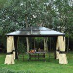 Pavillon Eisen Wohnzimmer Pavillon Eisen Panama 270 Cm Berdachung Garten