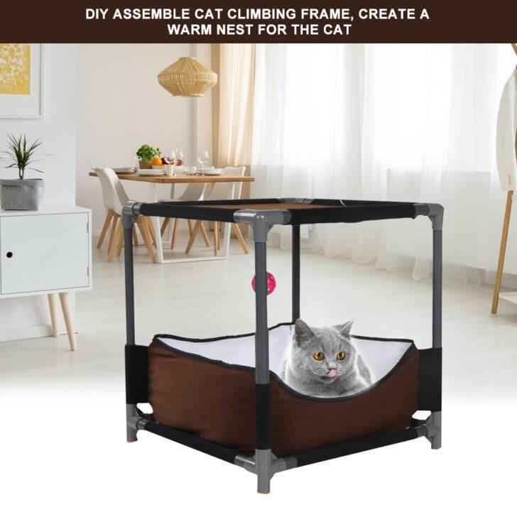 Medium Size of Katzenspielhaus Katze Klettergerst Pet Nest Haus Spielzeug Hhle Klettergerüst Garten Wohnzimmer Klettergerüst Indoor Diy
