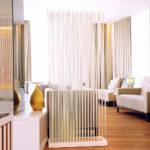 Paravent Bambus Wohnzimmer Paravent Raumteiler Trennwand Bambus Rodsdesign Garten Bett