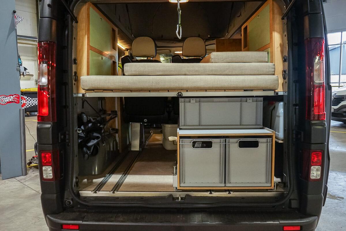 Full Size of Ausziehbett Camper Ausziehbares Bett Mit Wohnzimmer Ausziehbett Camper