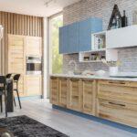 Küche Blau Wohnzimmer Moderne Grifflose Kche Damiana Singelküche Wasserhahn Küche Wandanschluss Industrie Arbeitsschuhe Vinylboden Lieferzeit Anthrazit Mülltonne Landhaus