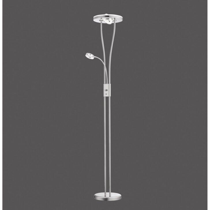 Medium Size of Stehlampe Led Dimmbar Deckenfluter Mit Leseleuchte Bauhaus Aldi Stehlampen Amazon Ikea Stehleuchte Messing Fernbedienung Helia Rund A Kaufen Bei Obi Wohnzimmer Stehlampe Led Dimmbar