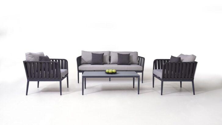 Medium Size of Loungemöbel Aluminium Alu Sitzgruppe Marla Living Zone Gartenmbel Fenster Verbundplatte Küche Garten Holz Günstig Wohnzimmer Loungemöbel Aluminium