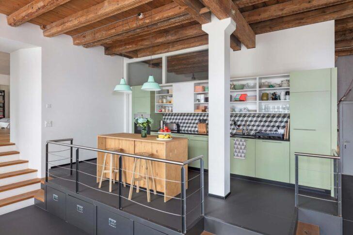 Medium Size of Küche Selber Planen Inselküche Müllsystem Einbauküche Günstig Gardinen Für Die Miniküche Mit Kühlschrank Wanddeko Kaufen Abfallbehälter Gewinnen Wohnzimmer Küche Mint