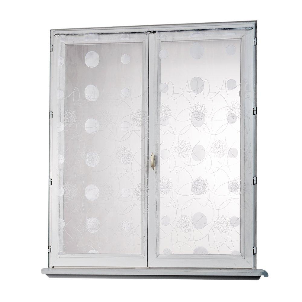 Full Size of Gardinen Doppelfenster Amazonde Homemaison Hm69812818 Gardine Fr Für Wohnzimmer Fenster Schlafzimmer Küche Die Scheibengardinen Wohnzimmer Gardinen Doppelfenster