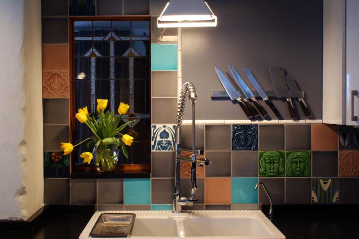 Medium Size of Küchen Fliesenspiegel Golem Kunst Und Baukeramik Gmbh Küche Selber Machen Regal Glas Wohnzimmer Küchen Fliesenspiegel