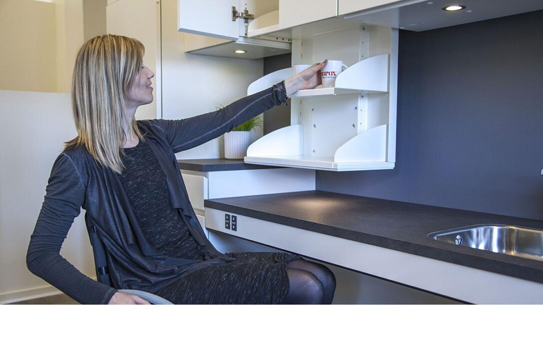 Large Size of Behindertengerechte Kche Pro Ipso Barrierefreie Kchen Nolte Wasserhahn Für Küche Laminat Arbeitsplatten Tresen Kaufen Ikea Wandtattoos Miniküche Moderne Wohnzimmer Barrierefreie Küche Ikea