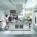 Nobilia Jalousieschrank Offene Kchen Modernen Wohnkchen Von Kcheco Einbauküche Küche Wohnzimmer Nobilia Jalousieschrank