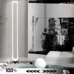 Kristall Stehlampe Ha111 Diffus Led Stehleuchte Boden Lampe 140cm 50w Schlafzimmer Wohnzimmer Stehlampen Wohnzimmer Kristall Stehlampe