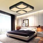 Schlafzimmer Deckenleuchten Wohnzimmer Deckenleuchten Schlafzimmer Ikea Romantisch Deckenleuchte Led Dimmbar Moderne Modern Design Amazon Obi Designer 64w Deckenlampe Lampe Tapeten Schrank Rauch