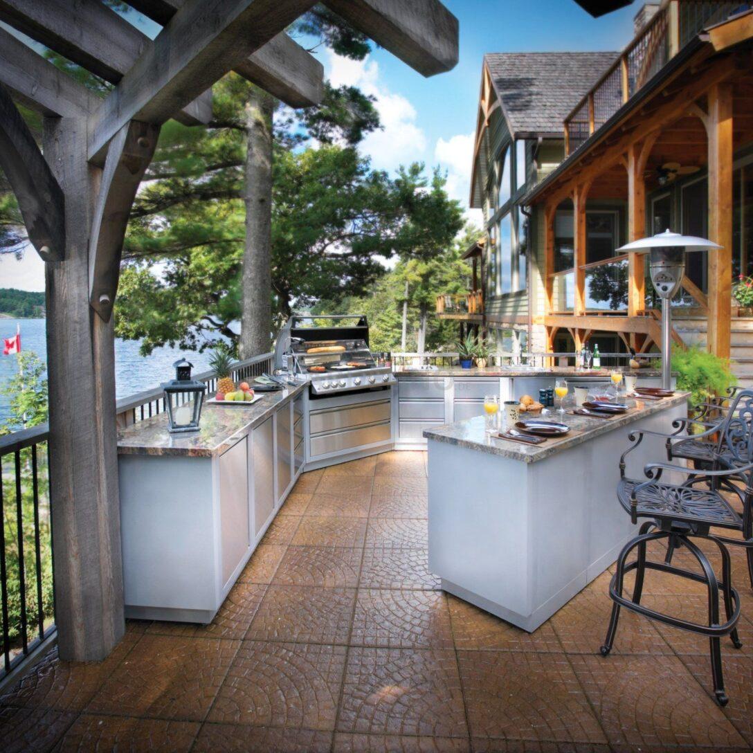 Large Size of Amerikanische Outdoor Küchen Jetzt Zu Einer Napoleon Oasis Kche Vom Auenkchen Küche Kaufen Regal Edelstahl Amerikanisches Bett Betten Wohnzimmer Amerikanische Outdoor Küchen