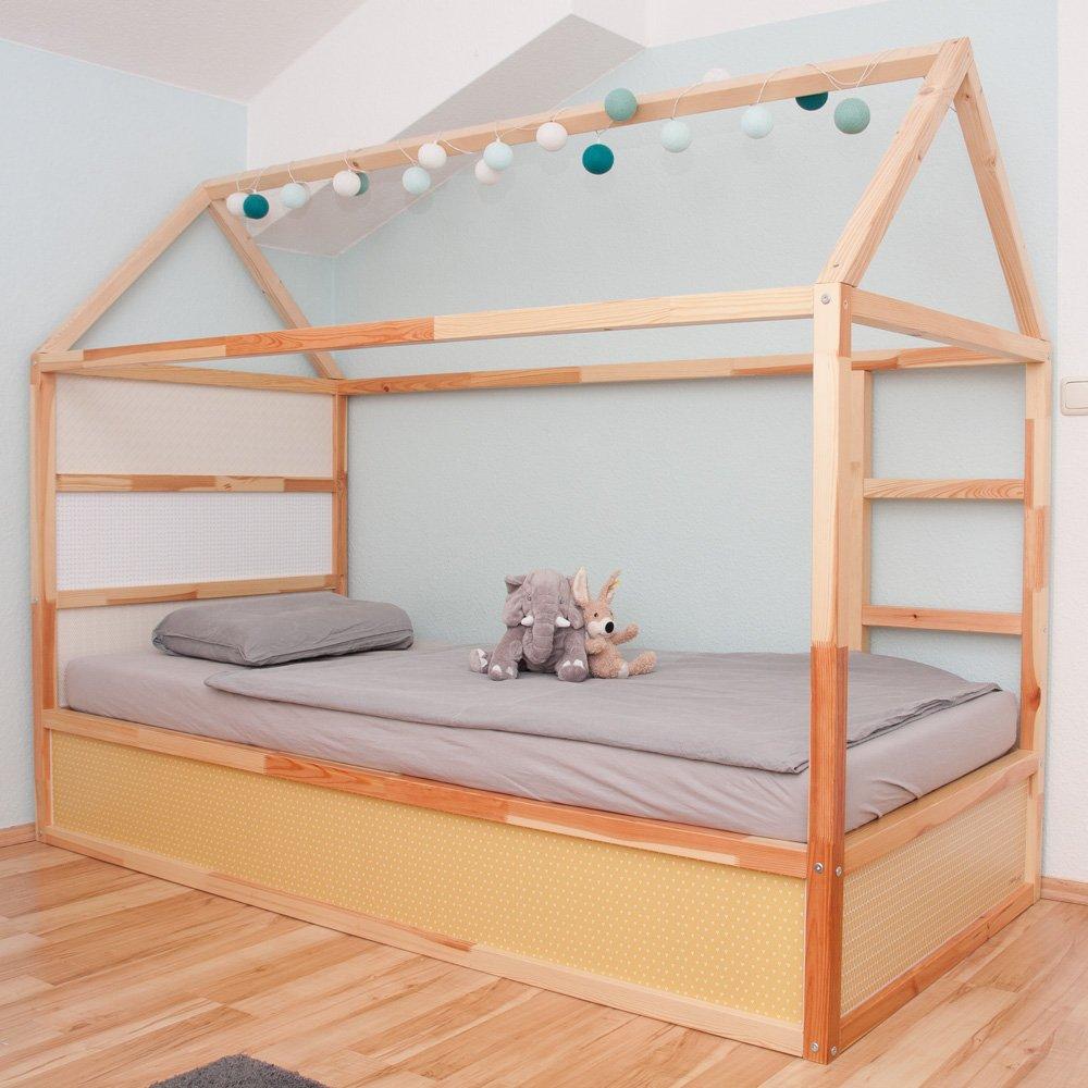 Full Size of Kinderbett Diy Hausbett Haus Rausfallschutz Kinderbetten Bett Obi Baldachin Ideen Ikea Besten Zum Schlafen Unterm Dach Wohnzimmer Kinderbett Diy