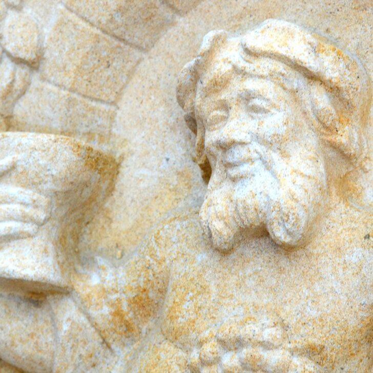 Medium Size of Bacchus Wand Relief Aus Stein Vinoso Garten Klapptisch Küche Wohnzimmer Wand:ylp2gzuwkdi= Klapptisch