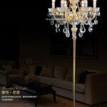 Kristall Stehlampe Europische Stehleuchte Wohnzimmer Stehlampen Schlafzimmer Wohnzimmer Kristall Stehlampe