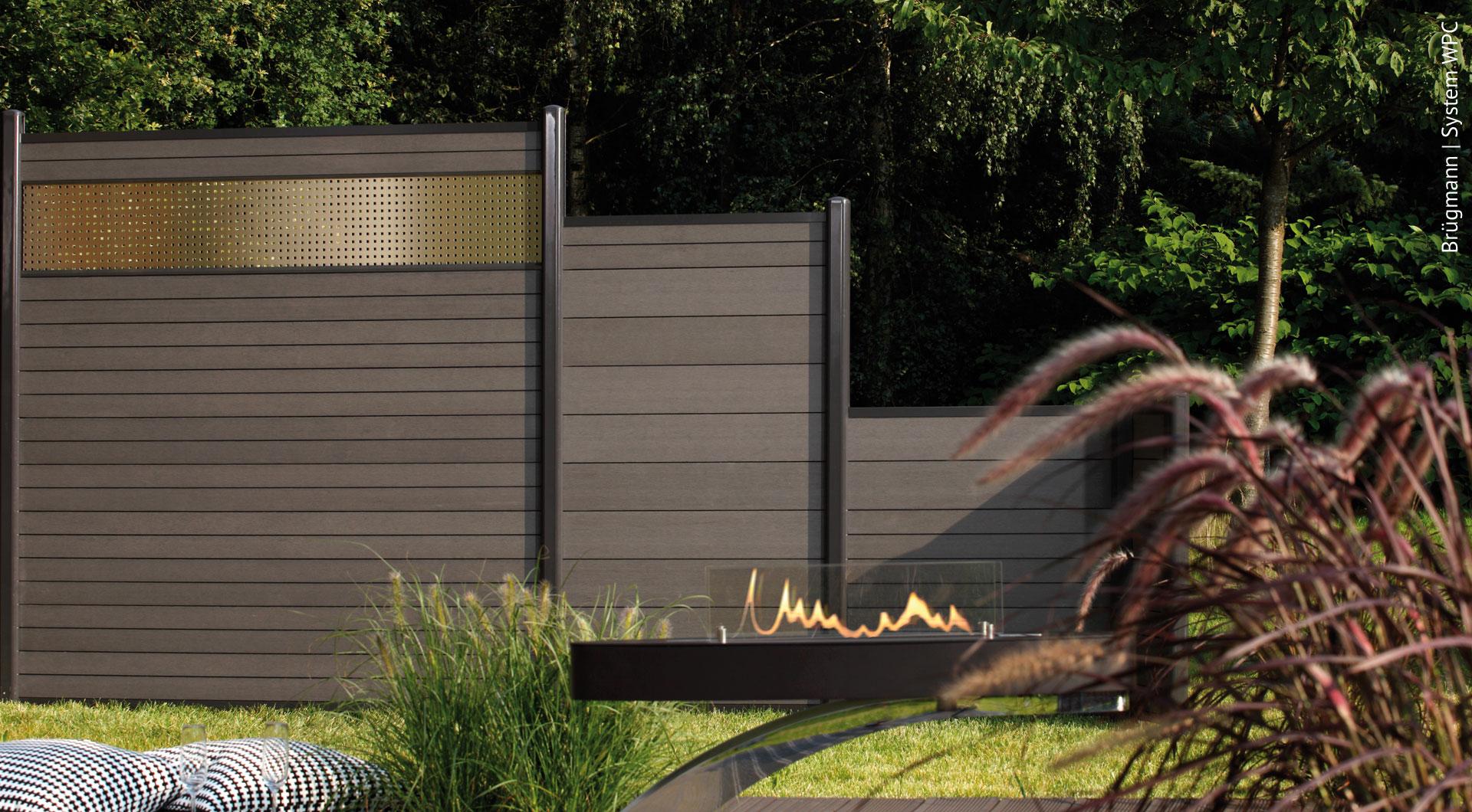 Full Size of Garten Trennwände Wpc Zune Der Sichtschutz Ohne Pflegeaufwand Holz Roeren Gmbh Sonnenschutz Schallschutz Gewächshaus Wasserbrunnen Spielanlage Rattanmöbel Wohnzimmer Garten Trennwände