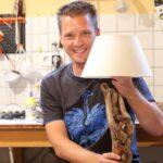 Bauanleitung Eine Schwemmholz Designer Lampe Selbst Herstellen Küche Landhaus Schlafzimmer Wandlampe Esstisch Massiv Ausziehbar Regal Aus Obstkisten Bett Wohnzimmer Lampe Aus Holz Selber Machen